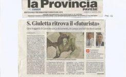 """Santa Giuletta ritrova il """"Futurista"""" Gino Soggetti"""