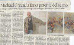Michael Green, la forza potente del segno.